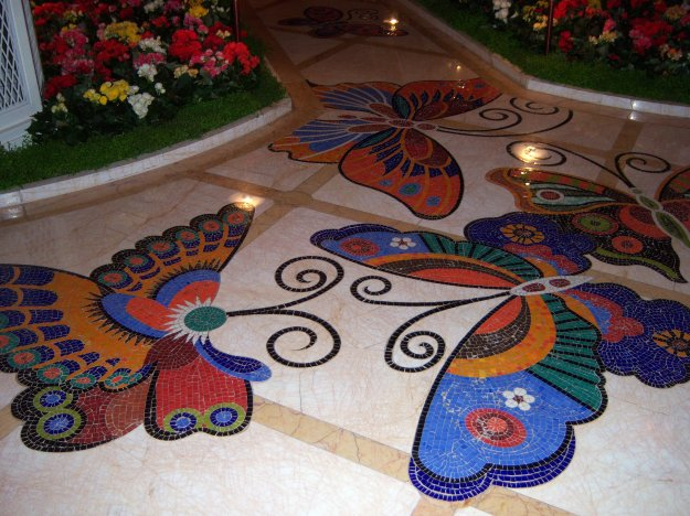encore butterfly tiles