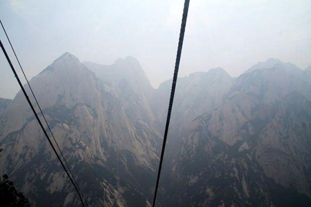 Mount Huashan cable car