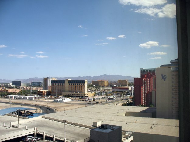 Harrahs Las Vegas Room View