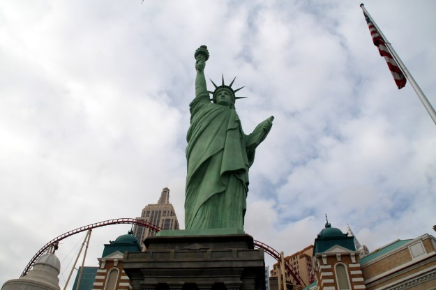 New York New York Las Vegas Statue of Liberty