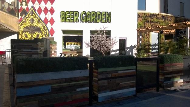 beer garden Plaza Las Vegas