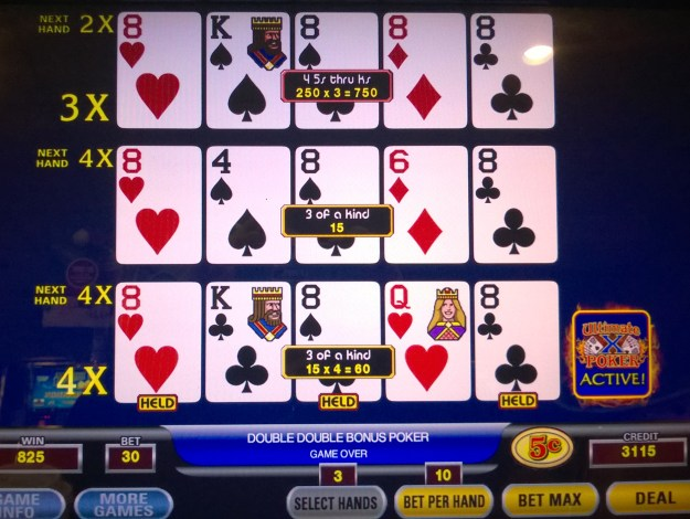 ultimate x eights multiplier