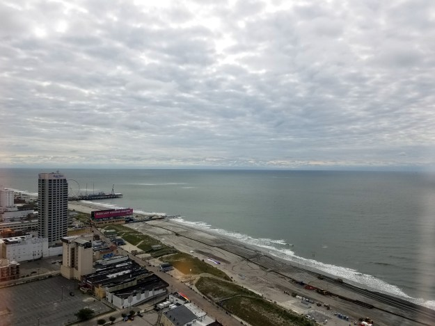Ballys Atlantic City ocean view room