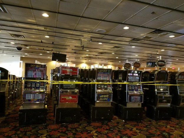 binions slot machine graveyard