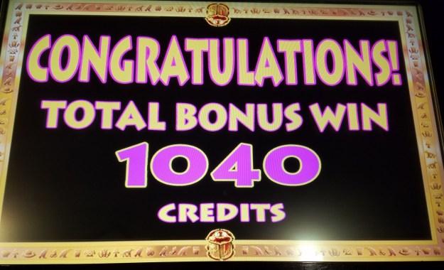 cleopatra keno 1040 win binions las vegas