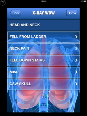 XRAY WOW Head and Neck Menu