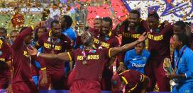 World champs Windies drop to 3rd on ICC World T20I Rankings