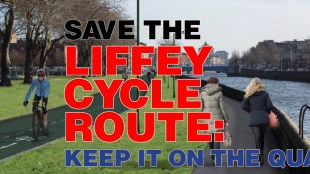 Liffey Cycle Route Facebook banner