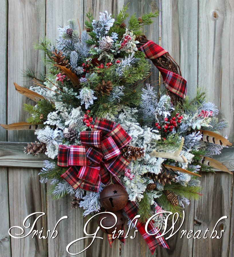 Celtic Scottish Highland Christmas Wreath #2