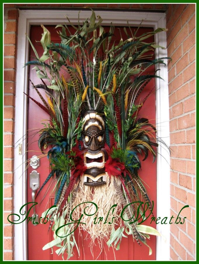 Custom Tiki Voodoo Wall Sculpture