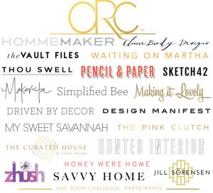 One Room Challenge, Season 10 Featured Designers