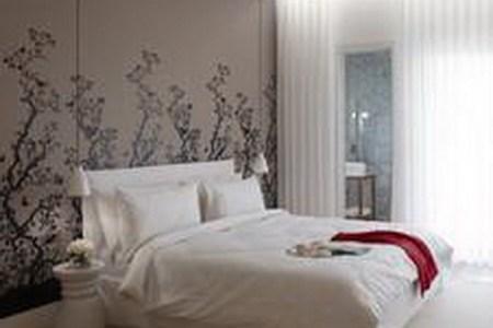 wandgestaltung schlafzimmer dachschrage