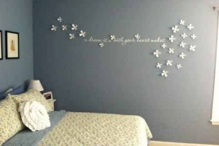 schlafzimmer deko ideen wand 43
