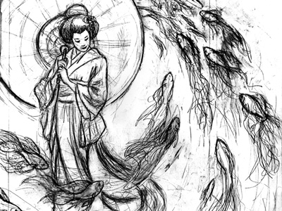 Geisha and the Goldfish