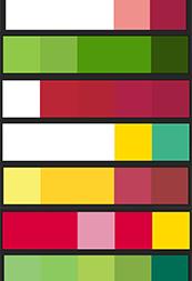 Adobe Kulerに十二単カラーを登録しました