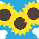 イラストレーターで向日葵を描く