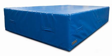 """5' x 10' x 1-3/8"""" Stunt Tumbling Mat - Norbert's Athletic Products ..."""
