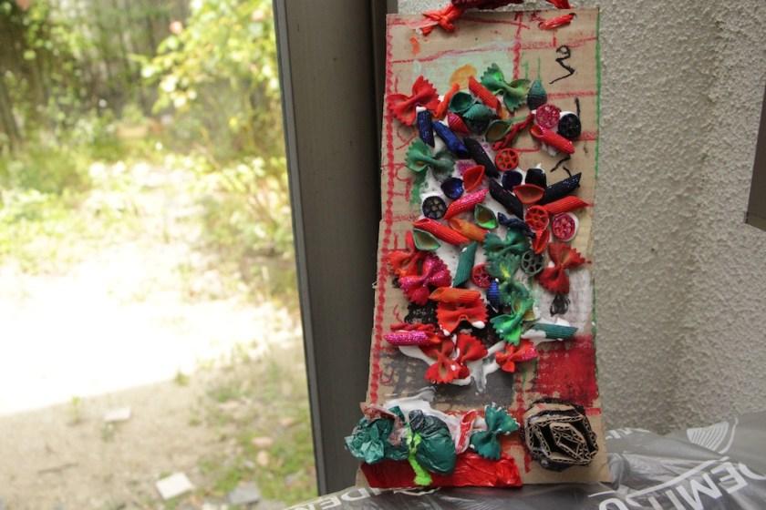 絵画造形教室 大阪 枚方 絵画教室 おえかき教室 こどもワークショップ こどもアート 造形教室 いろのね ironone 色のね 沖明日香 くずは 楠葉 樟葉 八幡 マカロニアート 絵の具 工作 関西