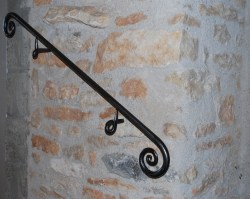 Small Of Wrought Iron Handrail