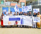 Water Action Month started from IRSP Head Office