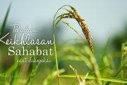 TELADAN KEIKHLASAN SHAHABAT SAAT DIKOREKSI