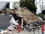 【熊本地震・益城町】写真で見る前震後と本震後の惨状