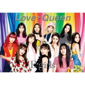 E-girls - Love ☆ Queen アートワーク