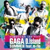 DOBERMAN INFINITY - GA GA SUMMER / D.Island feat. m-flo - EP アートワーク