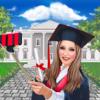 huizhen zhu - プリンセス卒業式 アートワーク