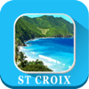 VIDUR - St. Croix U.S. Virgin Islands Maps navigation アートワーク