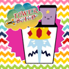 Rewiwan Saartdee - Tower Building Blocks Stack Straight Game For Kids Finn and Jake Adventure Edition アートワーク