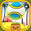 Scientific Monkeys Ltd. - VR Head Ball: Beach for Cardboard - Virtual Reality Weekend Experience Simulator アートワーク