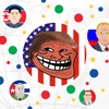 Ha Le - Trump Chase! -  Dot Empire & Tribes War in the epic brakes ( Slide agar game ) アートワーク