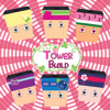 Somboon Khuengnual - Build a Tower Blocks Stack Straight Learning Game For Kids Strawberry Girls Gang Edition アートワーク