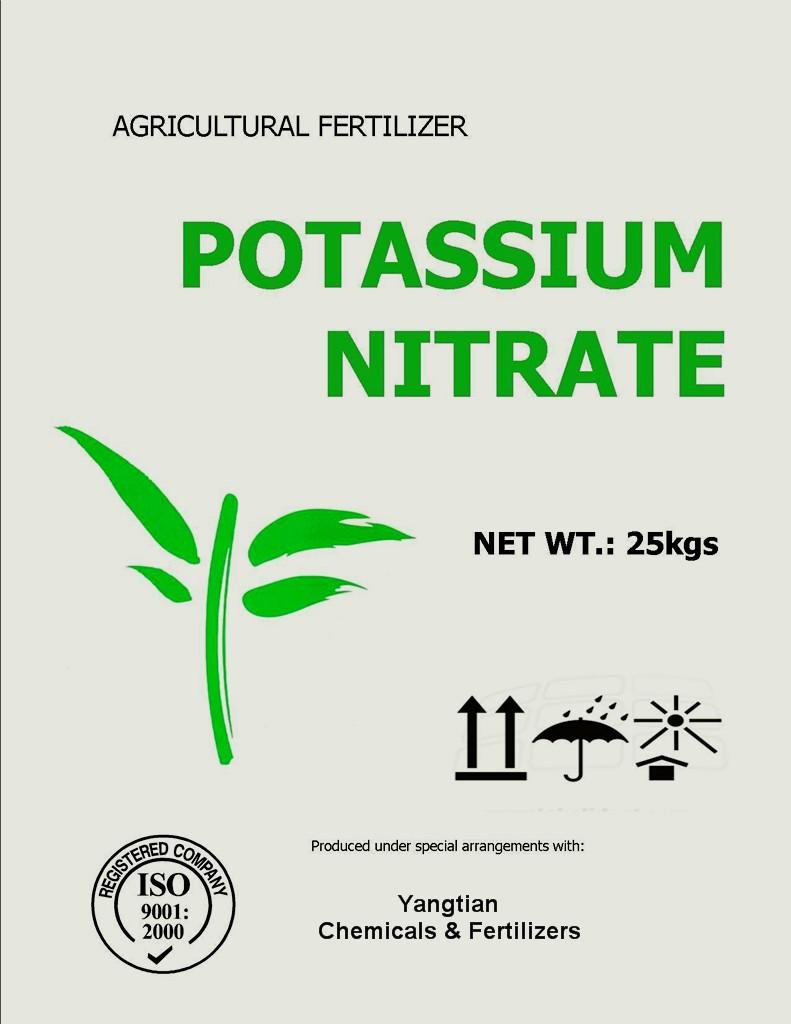 Large Of Potassium Nitrate Fertilizer