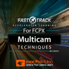 Nonlinear Educating Inc. - FastTrack™ for FCPX Multicam Techniques アートワーク