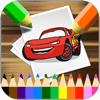 Chanwit Sukcharoen - Car Cartoon Coloring Version アートワーク