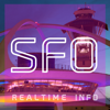IDIAMOND GROUP LLC - SFO AIRPORT - Realtime Flight Info - SAN FRANCISCO INTERNATIONAL AIRPORT アートワーク
