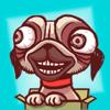 Ayan Nurmaganbetov - Crazy Dog Stickers! アートワーク
