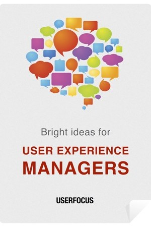 read online Bright Ideas for User Experience Managers