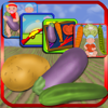 Eran Tager - Learning Games Vegetables Fun アートワーク