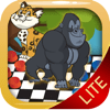 Werayut Jaisue - Anime Animals Checkers Boards Puzzle Games Players アートワーク