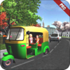 Door to Apps - Drive Tuk Tuk Rickshaw City Euro 3d Pro アートワーク