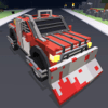 Cape of Good Games - Blocky Zombie Highway - Endless Driving Carnage アートワーク