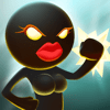 Teen Games, LLC - Sticked Man - Female's Fighting アートワーク