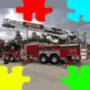 Kozo Terai - 消防車(しょうぼうしゃ)フォトジグソーパズル アートワーク