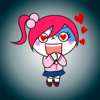 Ayan Nurmaganbetov - Cute Zombie Girl ● Emoji Stickers for iMessage アートワーク