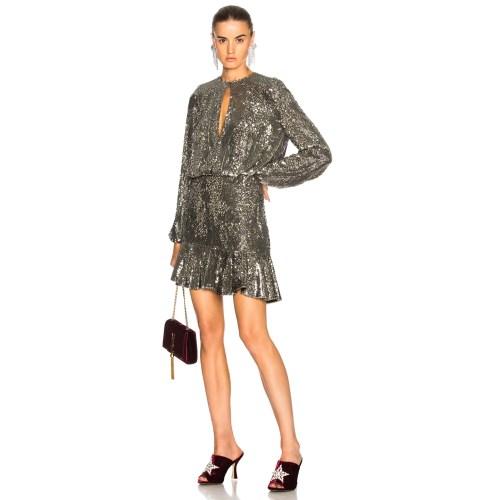 Medium Crop Of Silver Sequin Dress