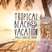 *Groovy workshop. - TROPICAL BEACH VACATION -BEST CHILL OUT MIX- mixed by *Groovy workshop. アートワーク
