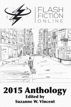 Reading books Flash Fiction Online 2015 Anthology